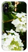 Oakleaf Hydrangea IPhone Case