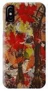 Oaks And Acorns IPhone Case