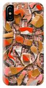 Oars And Rudders -- Orange IPhone Case