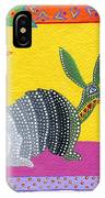 Oaxacan Armadillo IPhone Case