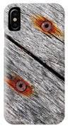 Oblique...hardness IPhone Case