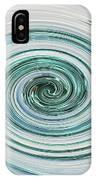 Ocean Blue Whip IPhone Case