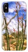 Ocotillos In Bloom IPhone Case