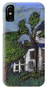 Ocracoke Island Light House IPhone Case
