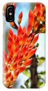 Octillo Flower. IPhone Case