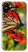 October Butterfly IPhone Case
