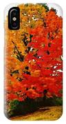 October Colors IPhone Case