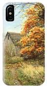 October Glory IPhone Case
