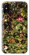 October Rose IPhone Case