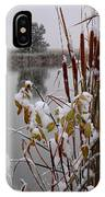 October Snow IPhone Case