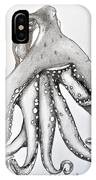 Octopus Of The Sea IPhone Case