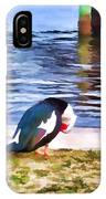 Odd Looking Duck In Swansboro Nc IPhone Case