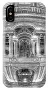 Ode To Mc Escher Library Of Congress Orb Horrizontal IPhone Case