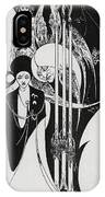 Of A Neophyte And How The Black Art Was Revealed Unto Him IPhone Case