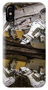 Off Season Outboards IPhone Case