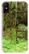 Off The Beaten Path Haida Gwaii Bc IPhone Case