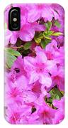 Office Art Azaleas Flower Art Prints 1 Azalea Flowers Giclee Baslee Troutman IPhone Case