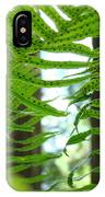 Office Art Ferns Redwood Forest Fern Giclee Prints Baslee Troutman IPhone Case