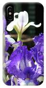Office Art Prints Iris Flower Botanical Landscape 30 Giclee Prints Baslee Troutman IPhone Case