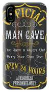 Official Man Cave IPhone Case