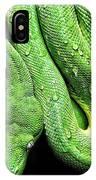 Oh So Green Viper IPhone Case