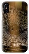 Oh What Tangled Webs.... IPhone Case