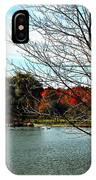 Ohio Duck Pond IPhone Case