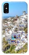 Oia Watercolor IPhone Case