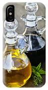 Oil And Vinegar IPhone Case