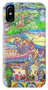 Oil On Sharpie Surrealistically IPhone Case
