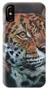 Oil Painting Jaguar IPhone Case