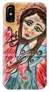 Oil Pastel Angel IPhone Case