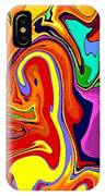 Oily Abstract IPhone Case