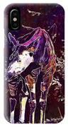 Okapi Okapia Mondonga Mammals  IPhone Case