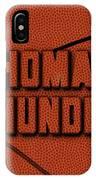 Oklahoma City Thunder Leather Art IPhone Case