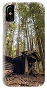 Old Abandoned Cabin In The Woods IPhone Case