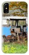 Old Abandoned Hippie Van IPhone Case