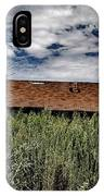 old abandoned house Texico NM IPhone Case