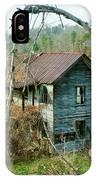 Old Abandoned Rural Hose IPhone Case