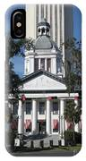 Old And New State Capitol IPhone Case