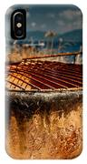 Old Barbecue IPhone Case