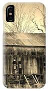 Old Barn-1 IPhone Case