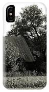 Old Barn Outbuildings And Silo  IPhone Case