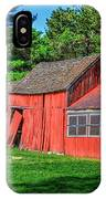 Old Barn Ridge Li.ny IPhone Case