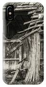 Old Barn Ruin 3 IPhone Case