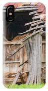 Old Barn Ruin  IPhone Case