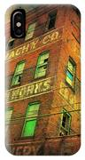 Old Empty Building In Retro Colors IPhone Case