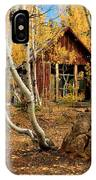 Old Cabin In The Aspens IPhone Case