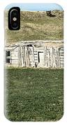 Old Cabin On The Plains IPhone Case