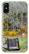 Old Cabin IPhone Case